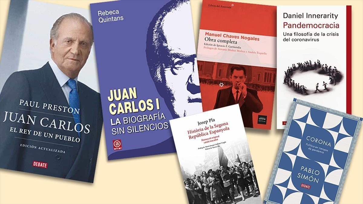 Algunos de los títulos recomendados.