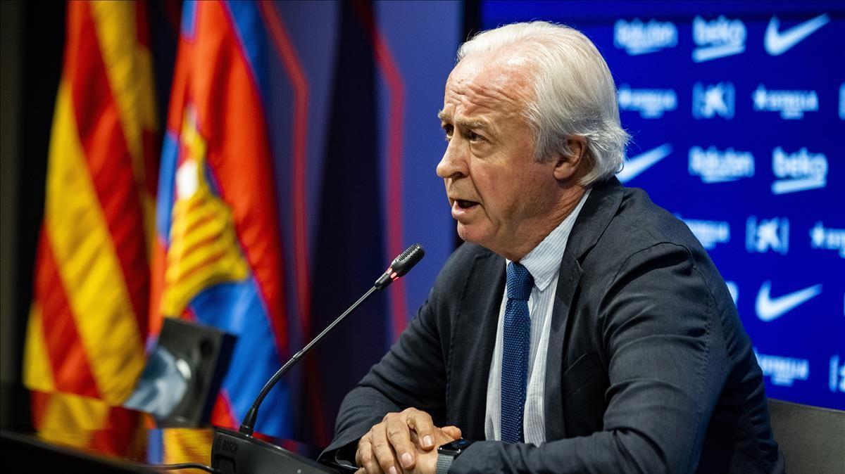 Tusquets, el presidente de la Comisión Gestora del Barça.