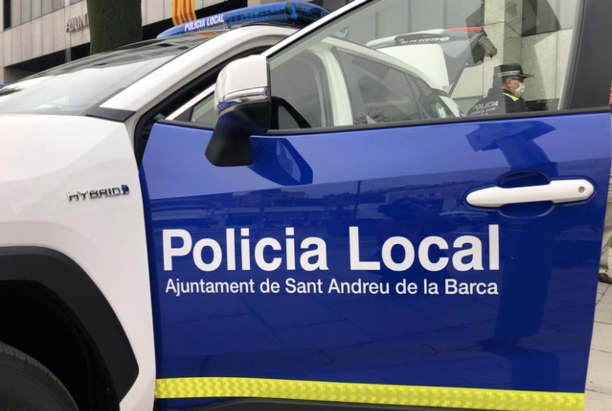 Vehículo de la Policia Local de Sant Andreu de la Barca