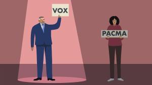 Vox, sí; PACMA, no: un greu error
