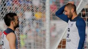Benzema torna a la selecció de França més de cinc anys després