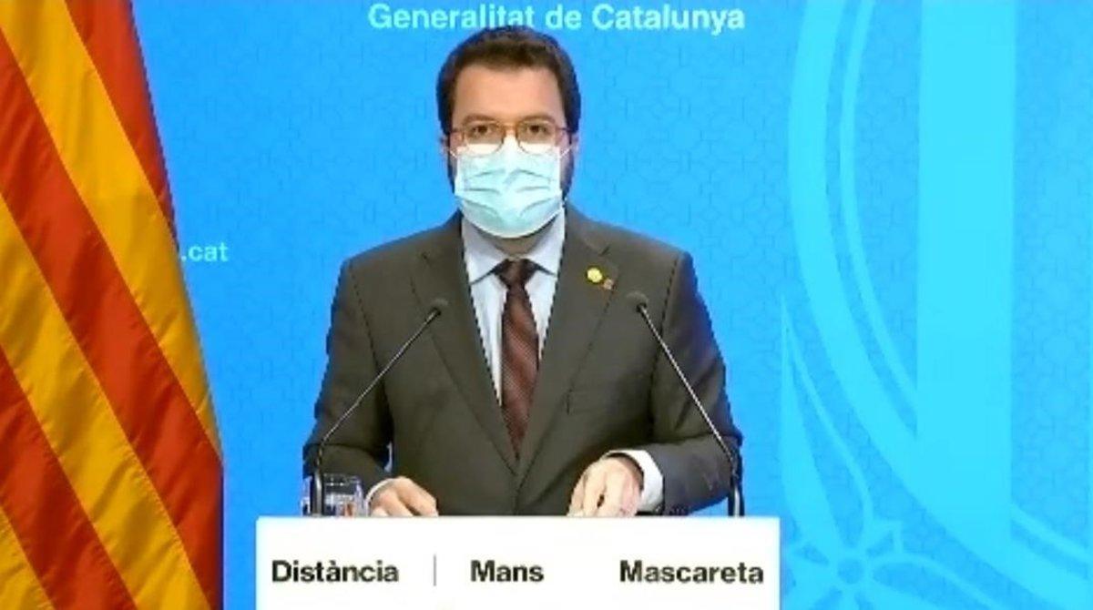 La Generalitat demana l'estat d'alarma per decretar un toc de queda nocturn