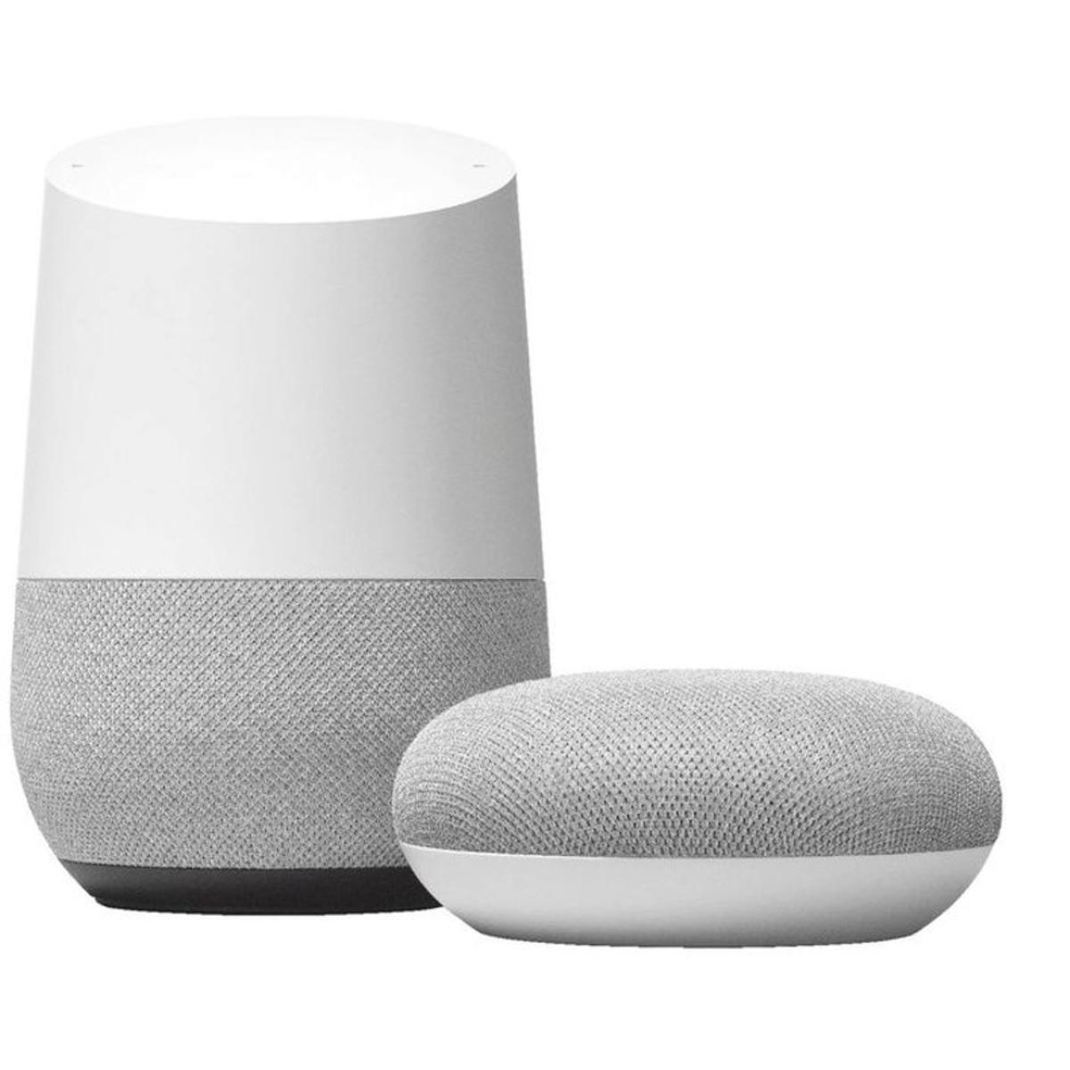 Nuevos Google Home y Mini.