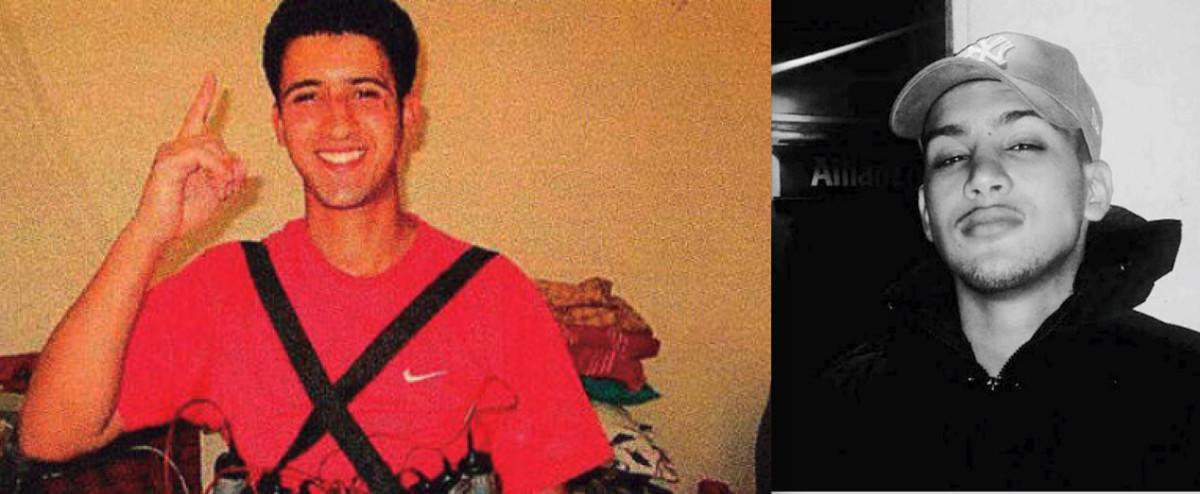Los hermanos Youssef (zquierda) y Said Aalla preocupaban entre sus parientes por su radicalización.