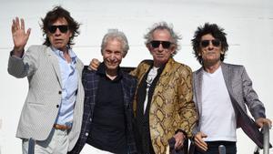 Mick Jagger, Charlie Watts, Keith Richards y Ron Wood: los Rolling Stones en 2016.