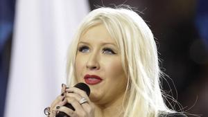 Una imagen de la cantante Christina Aguilera.