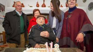 L'home més vell del món és espanyol i té 113 anys