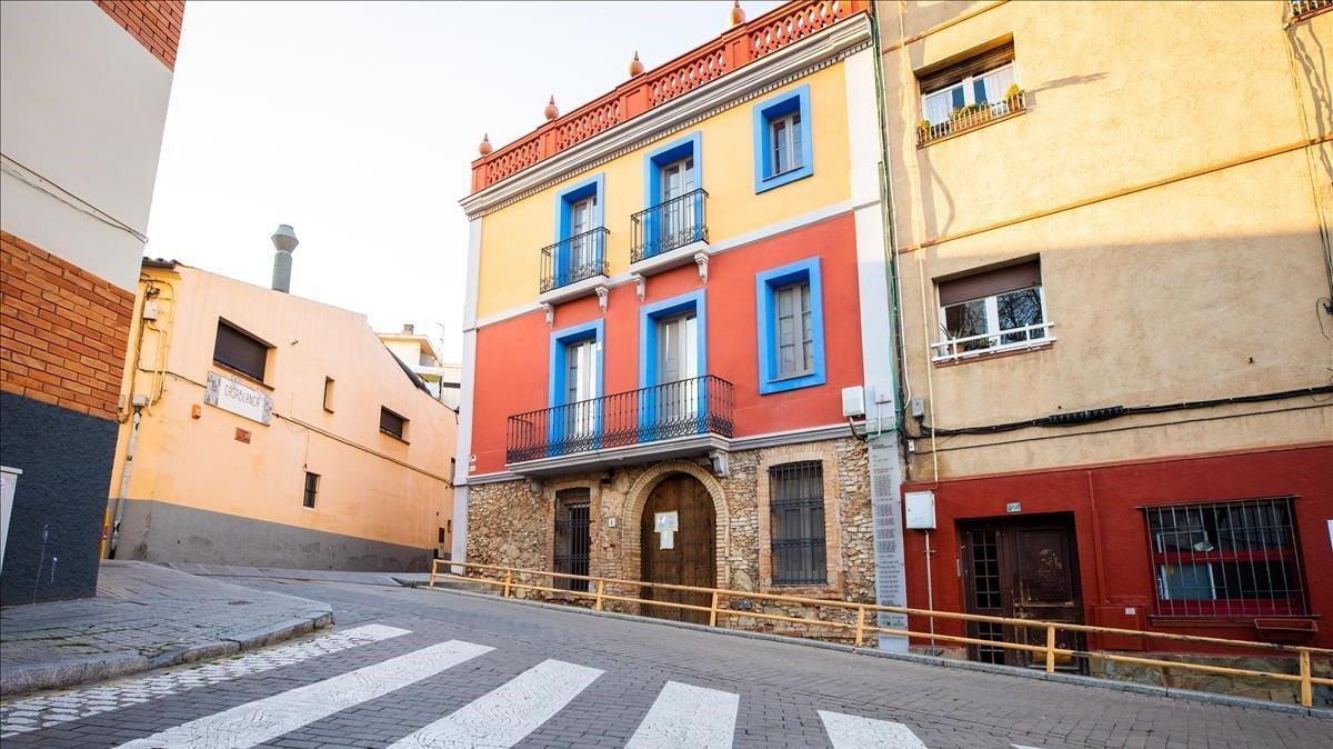 El edificio del Museo del Cómic de Sant Cugat.