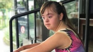 La lección de Melina: sus padres ocultaron que tenía Síndrome de Down, ahora es campeona de patinaje