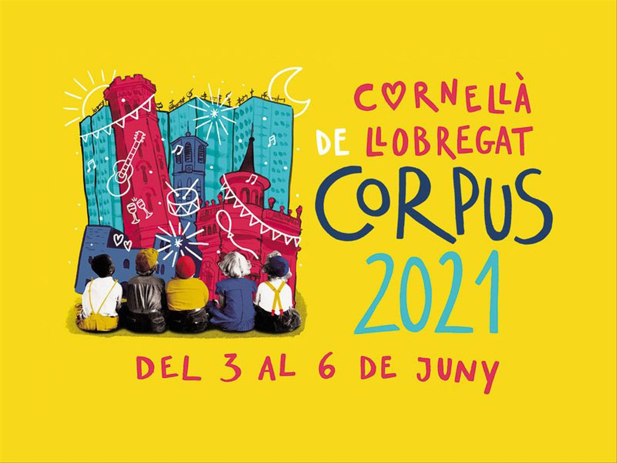Cartel del Corpus 2021 de Cornellà