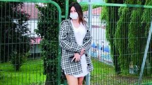 Paula Alejandra Perdomo, el día en que denuncia que fue víctima del comentario.