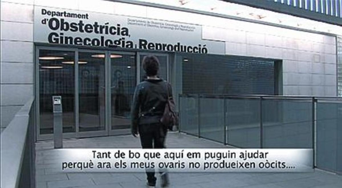 Dos secuencias de la película documental 'Dones que donen', programada para el 25 de enero dentro de la muestra 'Miradocs'.