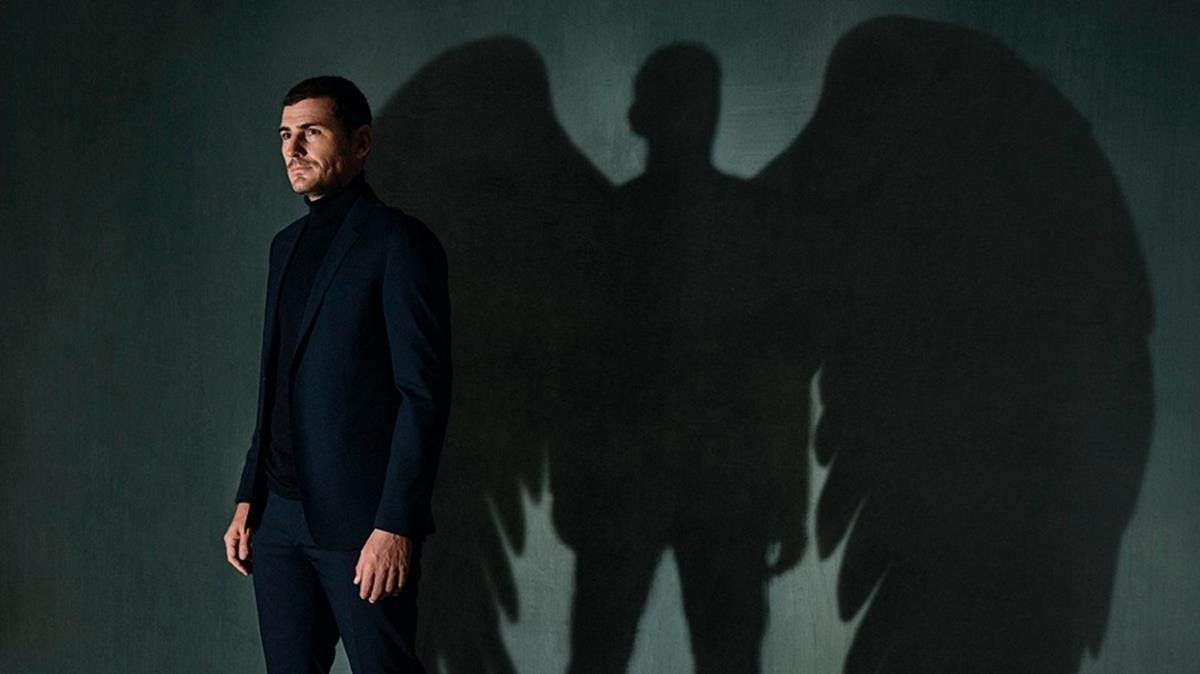 Iker Casillas, protagonista del documental'Colgar las alas'.