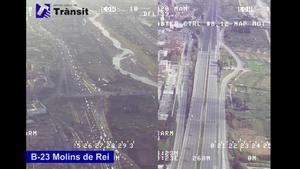 VÍDEO | El trànsit s'ha reduït de mitjana un 67% des de la declaració de l'estat d'alarma