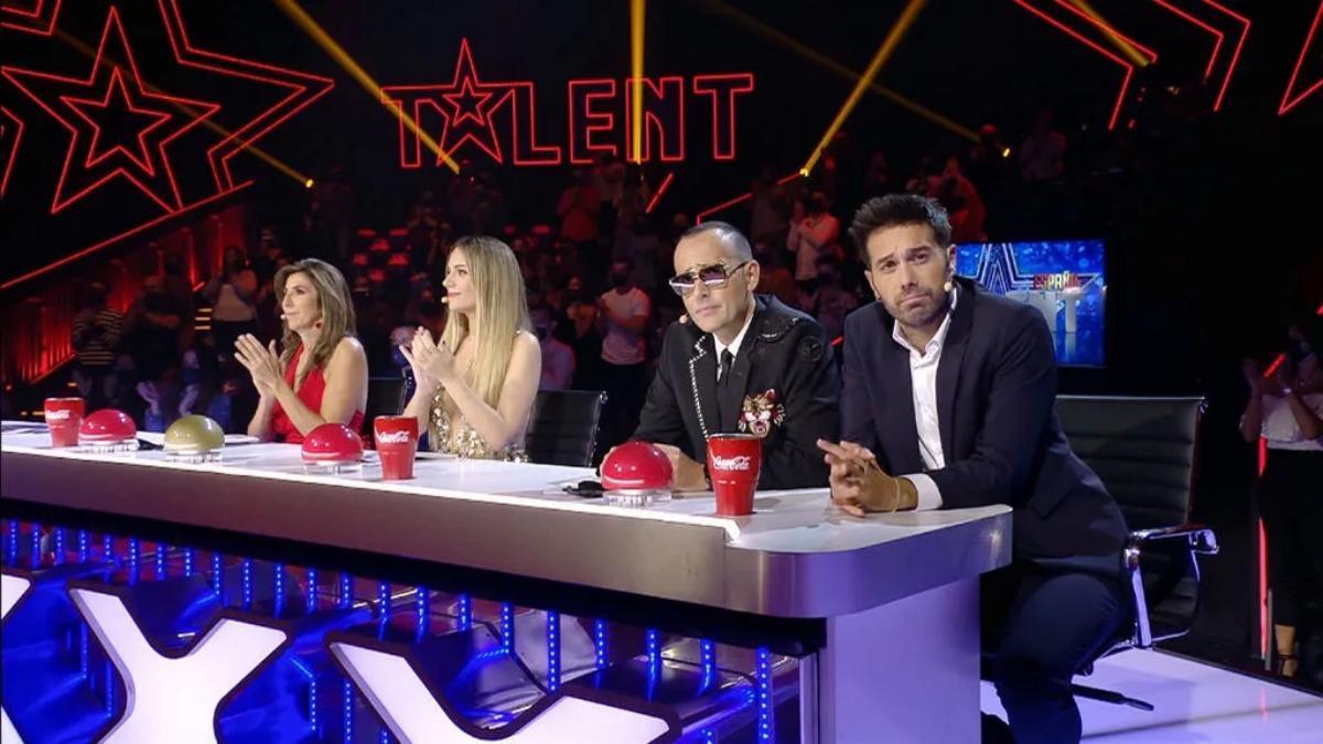 Imagen del jurado de la sexta edición de 'Got Talent'