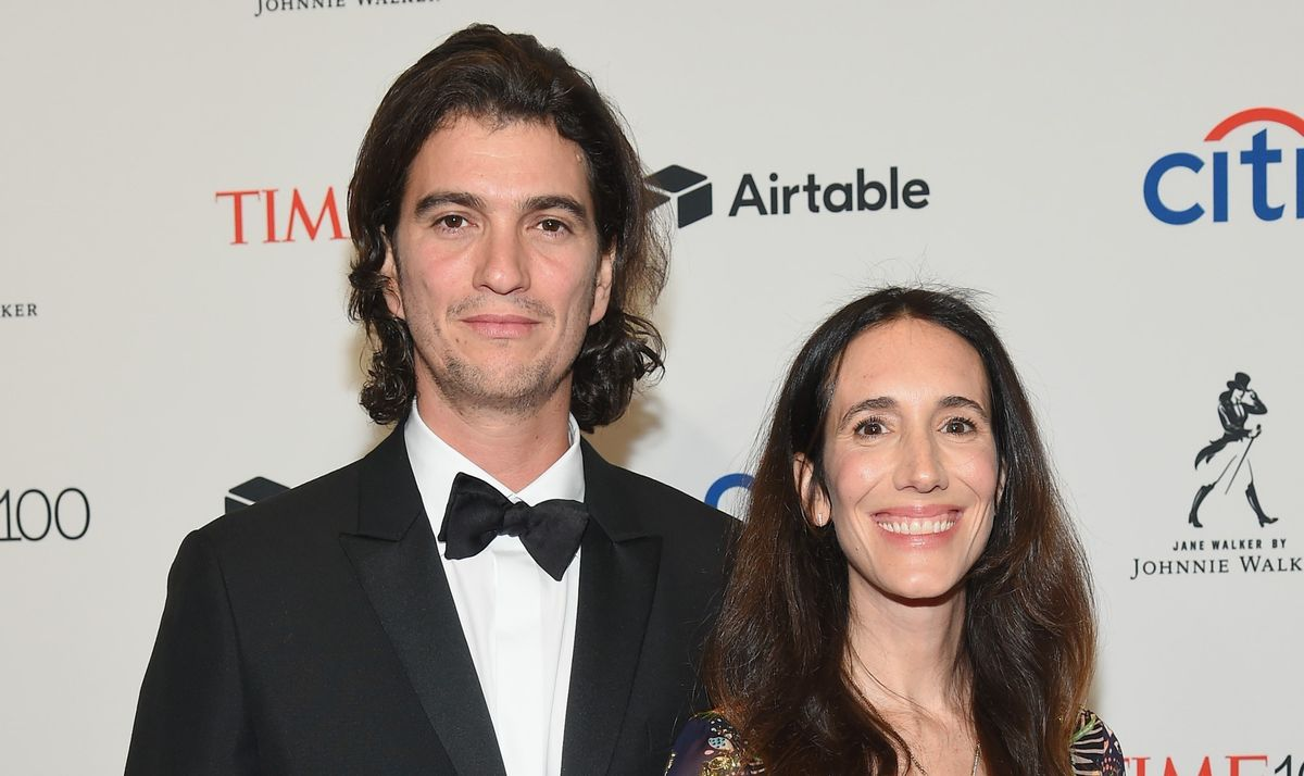Adam y Rebekah Neumann, en una gala en 2018.
