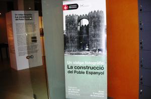 Una exposició descobreix com es va construir el Poble Espanyol