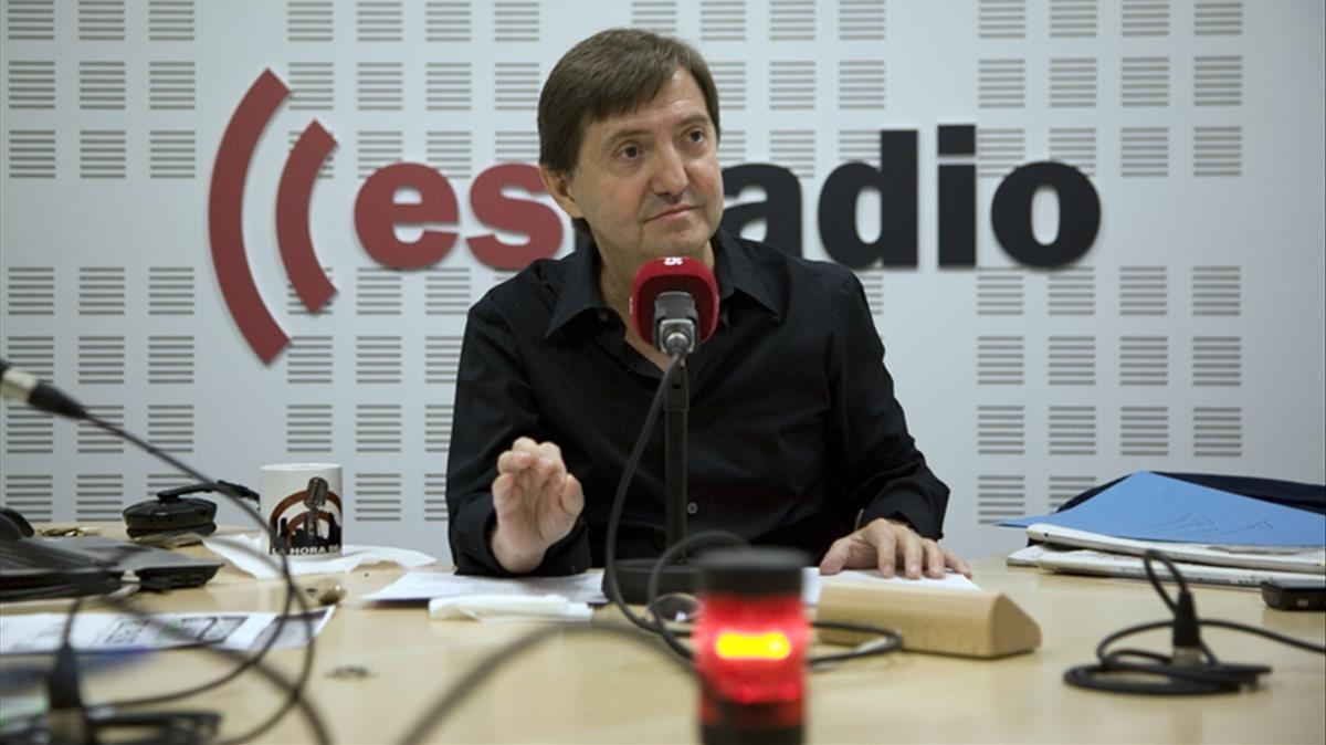 Fragmento del discurso de Federico Jiménez Losantos del pasado domingoen el que insta al Gobierno de Rajoy a bombardear Catalunya.
