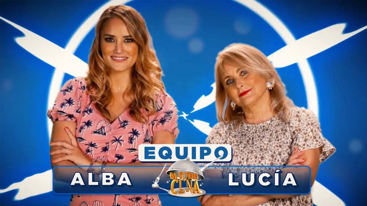 Alba Carrillo y su madre, Lucía Pariente, cocinan esta noche en 'La última cena'