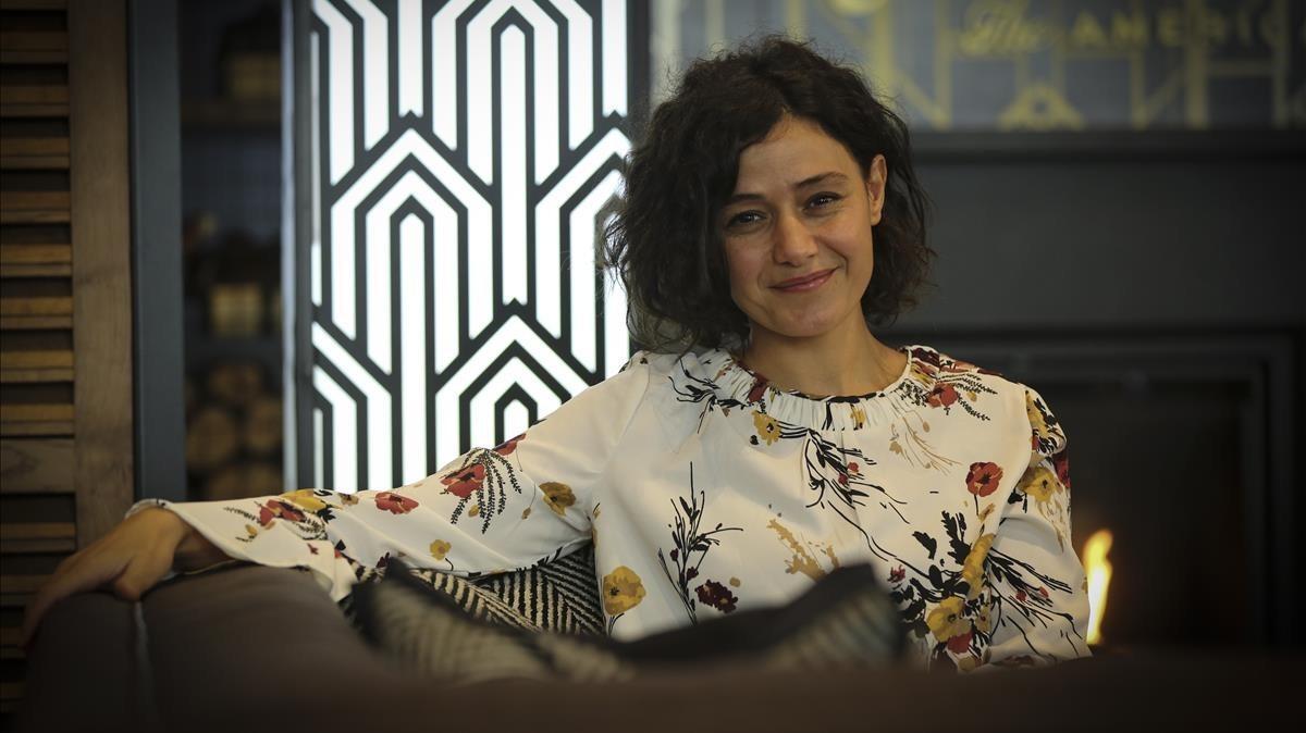 Hana Kanjaa, esta semana en Barcelona.