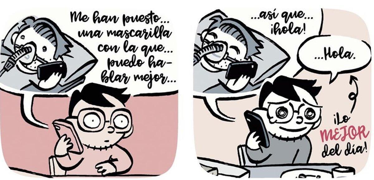 Viñetas de 'COnviVIenDo 19 días', de David Ramírez.