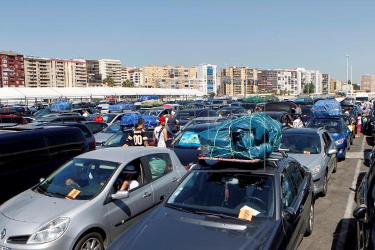 Marruecos excluye los puertos de España de la Operación Paso del Estrecho. En la foto, el puerto de Algeciras, en 2018.