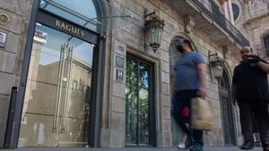 El Hotel Bagués, uno de los muchos que siguen cerrados en Barcelona