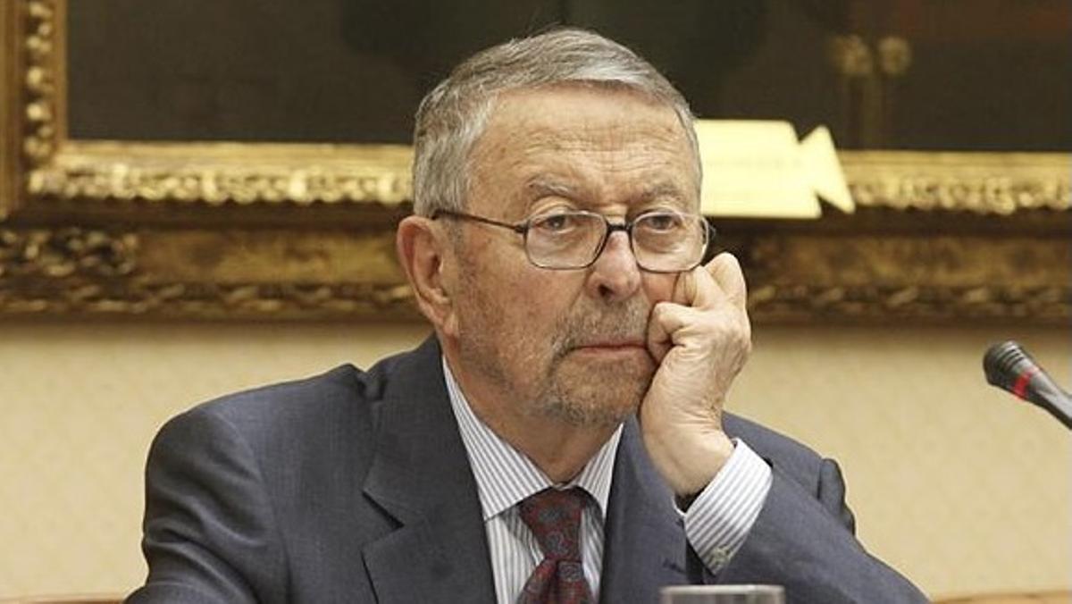 Alberto Oliart, expresidente de RTVE