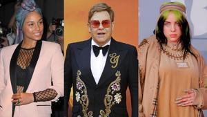 Elton John organiza este domingo un concierto benéfico en el que actuarán, entre otros, Billie Eilish y Alicia Keys.
