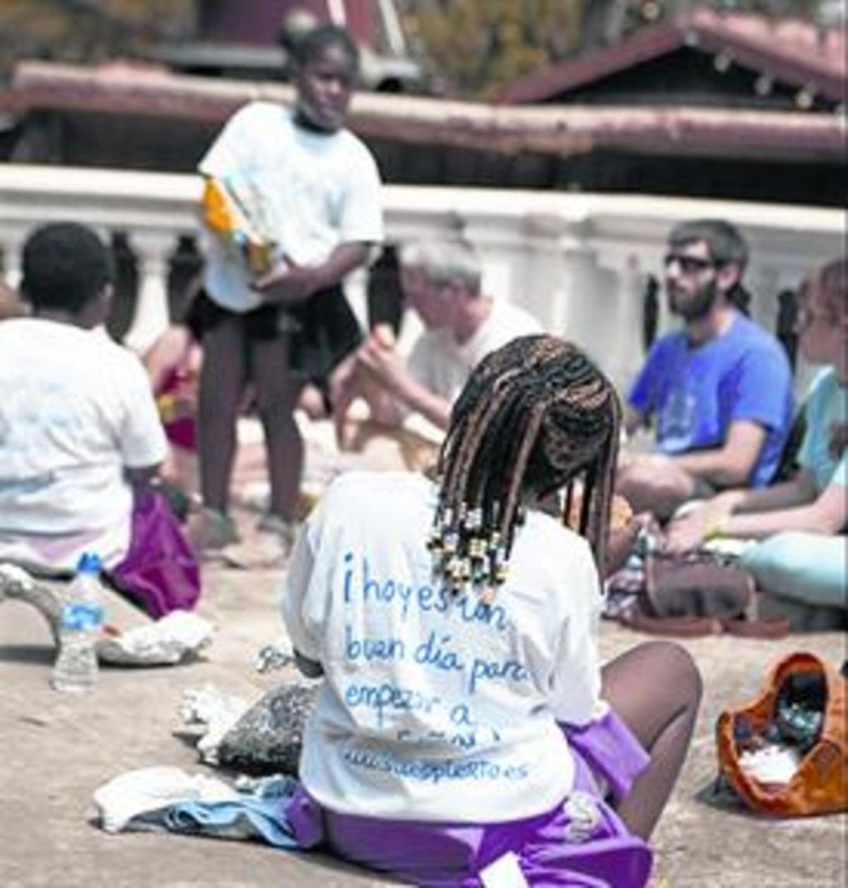 Ayuda y compañía:Una de las numerosas y variadas actividades que organiza Soñar Despierto.