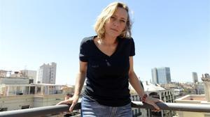 Virginie Despentes, en Barcelona.