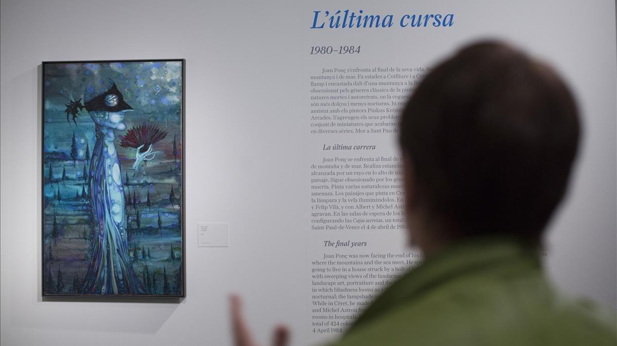 La exposición 'Joan Ponç. Diàbolo' de La Pedrera.
