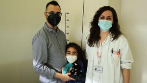 Historia de un trasplante cruzado de riñón incompatible de una niña en el Hospital Sant Joan de Déu