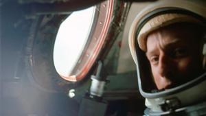 El incorregible Charles Conrad, a bordo de la nave Gemini, una de sus primeras misiones.