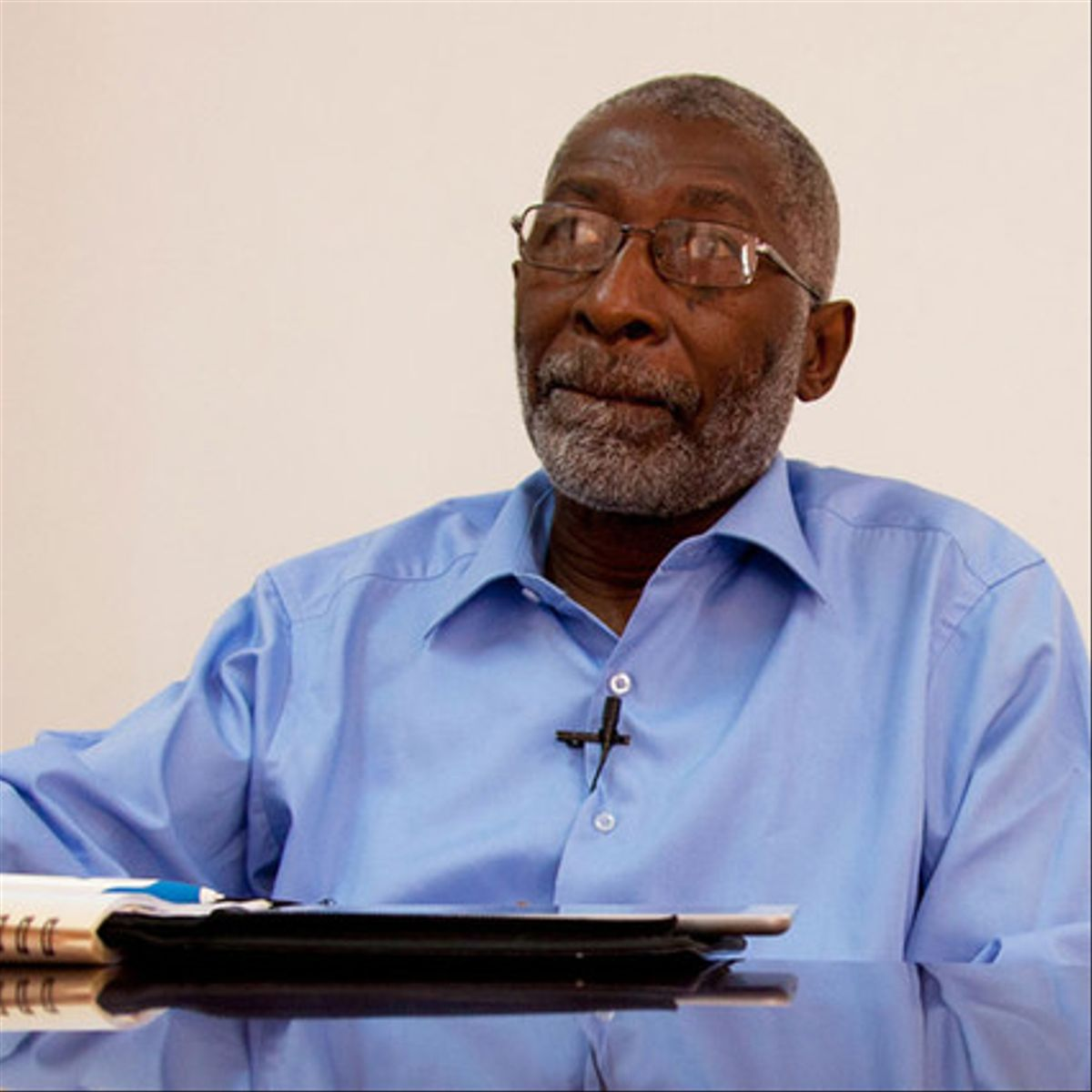 Nii Quaynor, presidente del consejo de la Agencia Nacional de Tecnología de la Información de Ghana y director de Internet Society en Ghana
