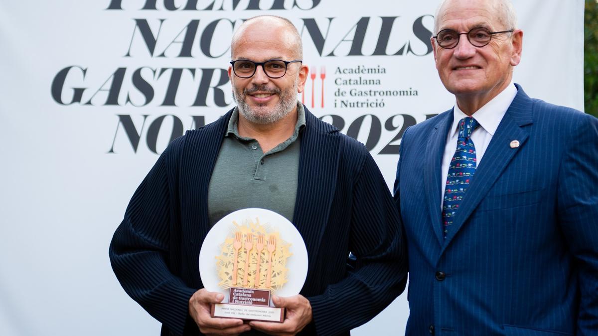 Jordi Vilà, Premi Nacional de Gastronomia 2021
