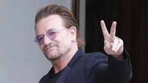 Bono, líder de U2.