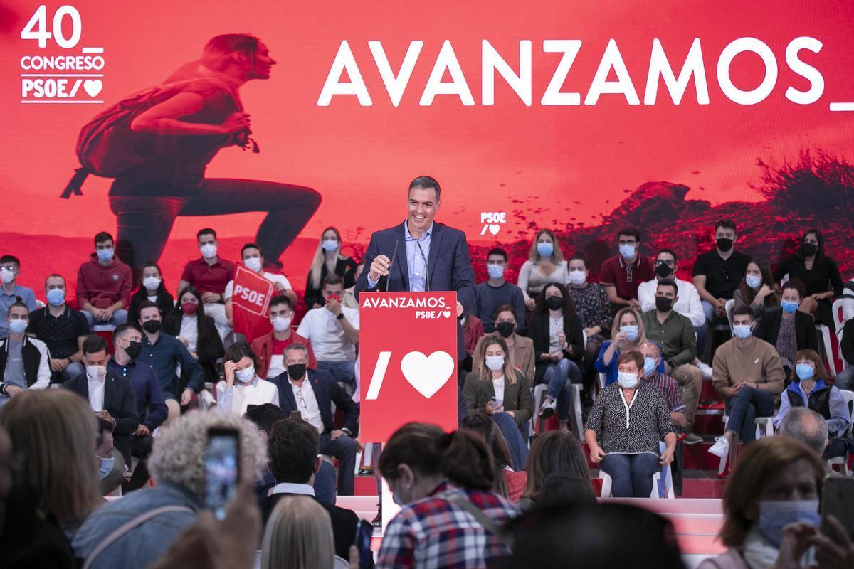 Sánchez projecta una executiva que impulsi una nova generació del PSOE i consolidi la unitat interna