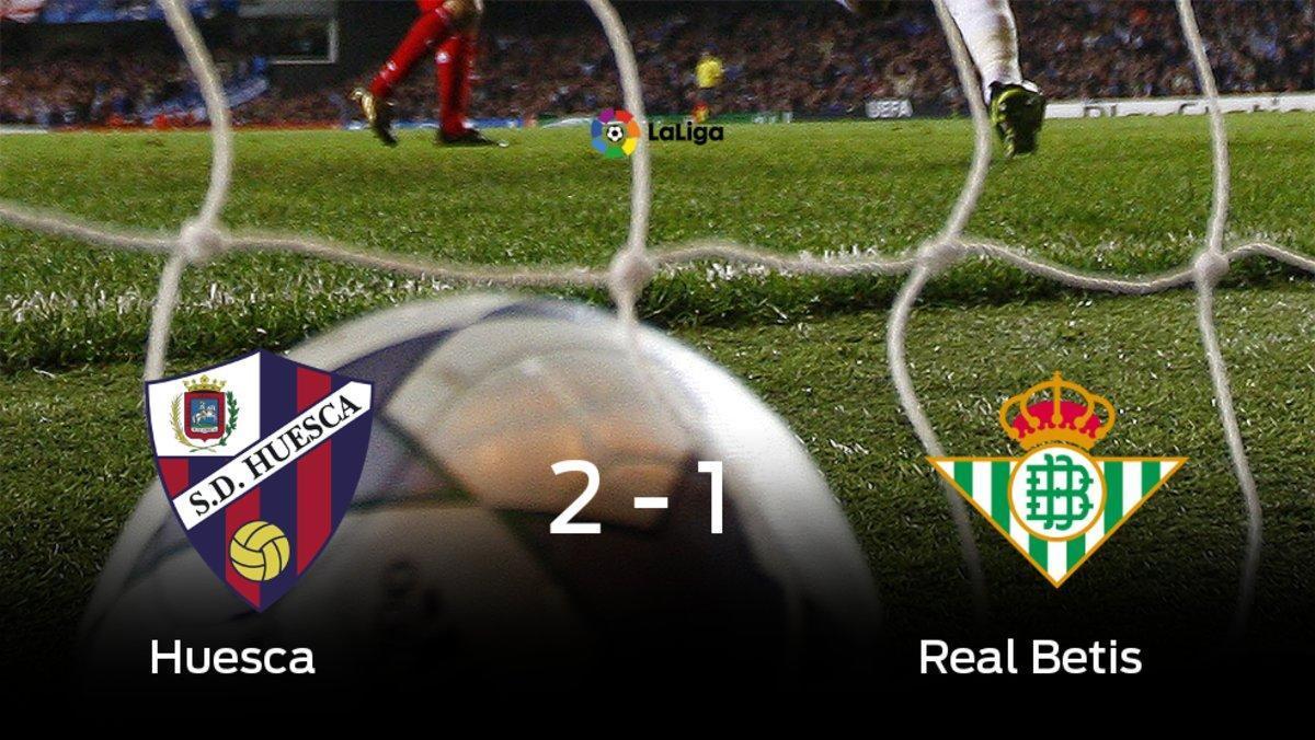 El Huesca se lleva la victoria en su casa frente a el Real Betis