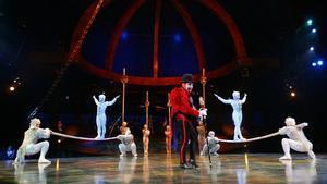 Una imagen del espectáculo del Cirque du Soleil, 'Alegría'.