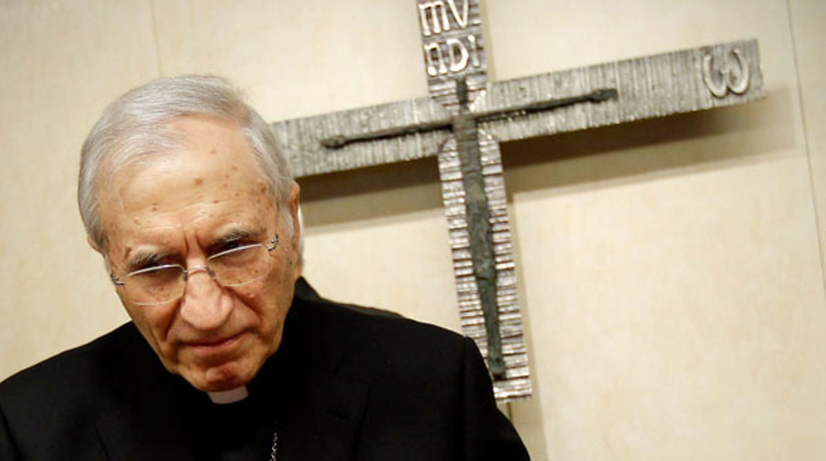 El presidente de la Conferencia Episcopal Española, el cardenal Antonio María Rouco Varela, pide cambios en leyes de aborto y matrimonio homosexual.
