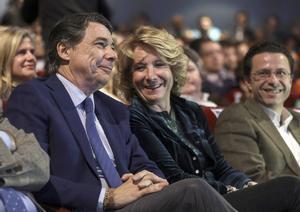 Imagen de archivo:Ignacio González y Esperanza Aguirre durante unacto en 2014.