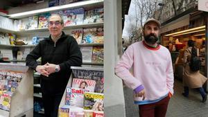 Combo fotográfico de José Antonio Zacarías (derecha) y Txema Montero.