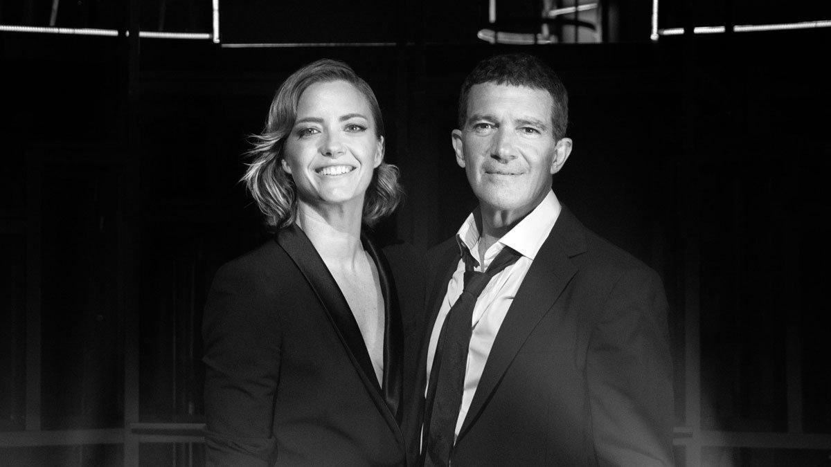 Antonio Banderas y María Casado presentan Escena en blanco y negro, un programa de entrevistas musicales para Amazon Prime Video.