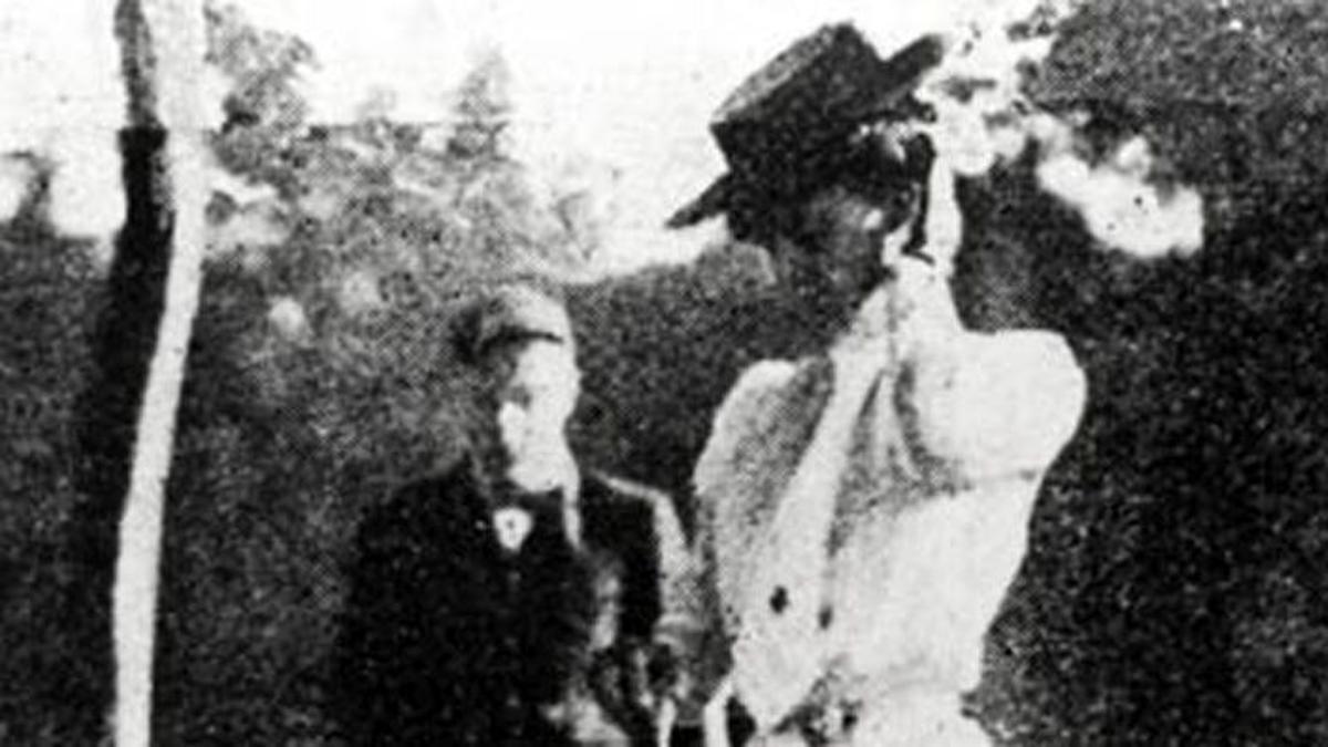 Margaret Abbott, la primera americana que ganó una medalla olímpica.