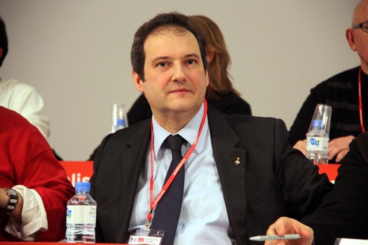El alcalde de Barcelona, Jordi Hereu, en una foto de archivo.