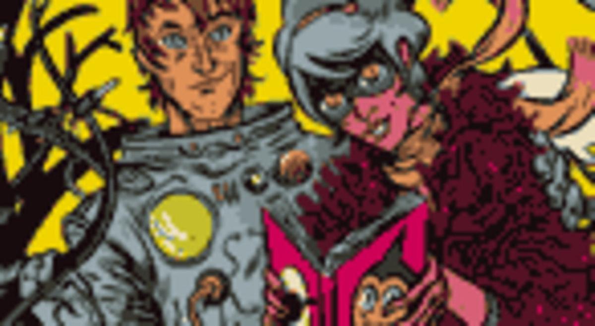 Detall del cartell del Saló del Còmic de Barcelona.