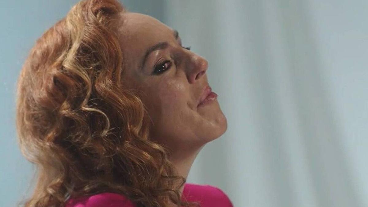 Rocío Carrasco, en la docuserie de Tele 5 'Contar la verdad para estar viva'.