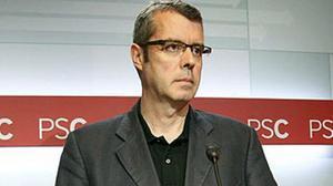 La policía ha registrado la sede de los socialistas catalanes y se ha incautado de un ordenador.