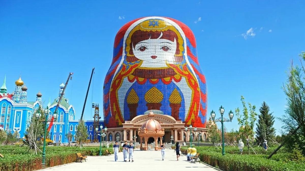 Los horrores arquitectónicos de China para el portal Archcy.com